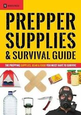 NEW - Prepper Supplies & Survival Guide: The Prepping (Paperback) ISBN1623152585