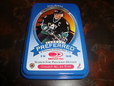 1997-98 Donruss Preferred Hockey---Paul Kariya---Empty Tin