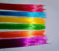 150ft COLORED .50mm FIBER OPTIC fiber Tiny colored lights + FREE illuminator