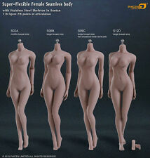 1:6 Fantastic Female Phicen Seamless Body W Large Size Breast Suntan S06B