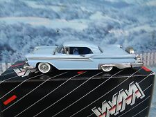 1/43 Western models  (England) 1959 FORD GALAXIE SKYLINER  white metal