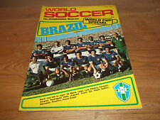 Football Magazine World Soccer June 1978 World Cup Special Cruyff Rudi Krol PSV