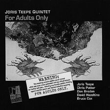 For Adults Only by Joris Teepe (CD, Jul-2000, 2 Discs, Postcards)