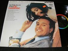 MY BABY LOVES TO SWING Vic Damone LP STEREO Capitol MADE IN ENGLAND Later Issue
