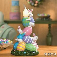 Easter Bunny Egg Candle Lamp Gift Holiday Decor Lighting Accent Spring NEW