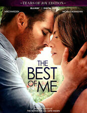 "The Best of Me ""Tears of Joy Edition"" (Blu-ray Disc, 2015 + Digital HD) NEW"