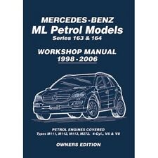 Mercedes ML 163 & 164 Workshop Manual MBLPWH
