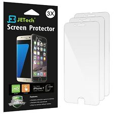 iPhone 7 Screen Protector JETech 3-Pack Screen Protector film HD Clear Retail...