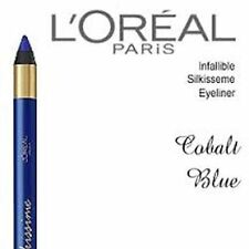 2 LOT L'oreal SILKISSIME Infallible Never Fail Pencil Eyeliner #250 COBALT Blue