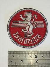 Lambretta Lion RED - Embroidered - Iron or Sew On