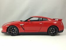 Norev Nissan GT-R R35 2008 Red Diecast Model Car 1/18