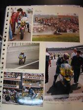 Photo Collage Honda NS500 1984/86 Marco Papa (ITA) 8x