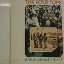 """THE FOUR TOPS - MAIN STREET PEOPLE   LP 12""""  (S 563)"""