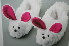 Girls Rabbit Slippers Craft Toy Sewing Pattern