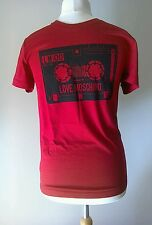 BNWT Mens Red Vintage Cassette Tee from Moschino RRP £97 Size S