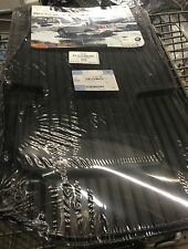 2005 TO 2010 BMW X3 Rubber Floor Mats - REAL FACTORY OEM ITEMS -SET OF 4-  BLACK