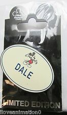 Disney DEC Dale Mickey Mouse WDC OLD Name Tag Series #1 Pin
