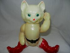1960s RARE VTG Celluloid Character TOY Cat RUSSIAN Soviet DOLL FIGURE Animal old