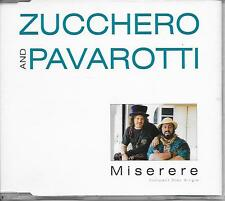 ZUCCHERO and PAVAROTTI - Miserere CD SINGLE 3TR Europe 1992 (LONDON RECORDS)