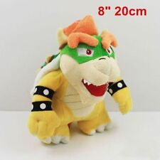 "New Cute Super Mario Bros. Bowser Soft Plush Doll Toy 8"" 20CM Kids Gift"