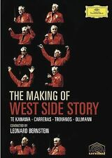Te Kanawa/Carreras/Bernstein - The Making of the West Side Story (DVD, 2005)