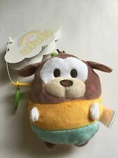 Disney Store Japan Goofy Ufufy Scented Small Coin Purse Plush New with Tags