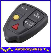 5 buttons remote key case fob replacement for Volvo S40 V70 C70