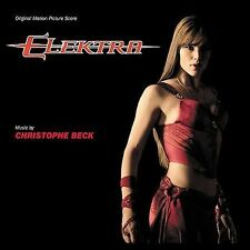 Elektra -- NEW Sealed CD Score Christophe Beck