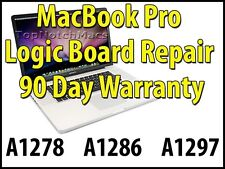 "APPLE MACBOOK PRO 2009 13"" LOGIC BOARD REPAIR A1278 820-2530 WATER LIQUID DAMAGE"