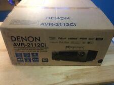 Denon AVR 2112CI  Receiver 7.1 Channel Integrated Network A/V Surround 2000s