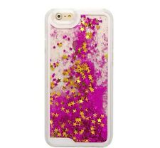 Glitter Bling Stars Liquid Novelty Colourful Phone Case Fits iPhone & Samsung