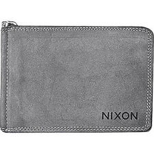 Nixon Dusty Bi-Fold Wallet (Chalk Black)