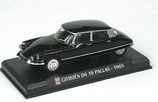 CITROEN DS19 PALLAS 1965 BLACK AUTO PLUS 1:43 MAGBA04 DEL PRADO BLISTER PACK