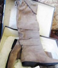 ENZO ANGIOLINI ~NEW $159 TAUPE SUEDE ZAKARI OVER THE KNEE BOOTS SHOES SZ 6 M NIB