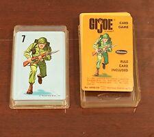 1965 VINTAGE WHITMAN GI JOE HASBRO CARD GAME MIB
