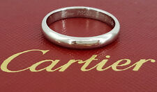Cartier TP 3114 Platinum 950 Wedding Band 3.5 mm Size 60 French 9 US 7 Grams