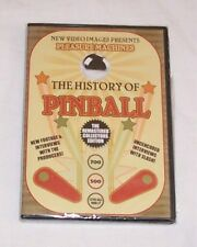 New! The History Of Pinball DVD A Must For Pinball Machine Enthusiasts Free Ship