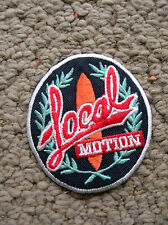 vintage local motion surfing surfer surfboard longboard jacket patch hawaii cool