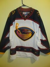 Atlanta Thrashers -Team issued 1st year blank jersey - CCM - Adult Large