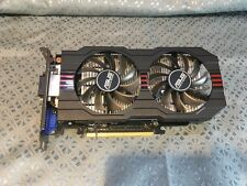 Used Asus GeForce GTX750TI-OC-2GB GDDR5 Video Card - Excellent Cond - NO RESERVE