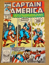 CAPTAIN AMERICA #355 MARVEL COMIC HIGH GRADE NICE CONDITION JULY 1989