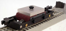 :) O Gauge Track Cleaning Car by Bridge Masters Mint NO Liquids Needed(: