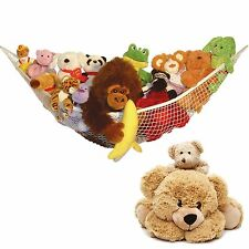 New Large Toy Soft Hammock Mesh Baby Child Kids Bedroom Tidy Storage Nursery Net