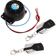 Motorcycle Anti-theft Security Alarm System Burglar Alarm (2PCS Remote Control)