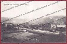 BOLOGNA SASSO MARCONI 07 STAZIONE - PONTE ALBANO - TRENO Cartolina VIAGG. 1911