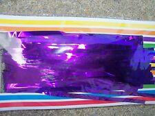 Purple Metallic Foil Fringe Curtain- 3' x 8'  Party Decoration Back drop