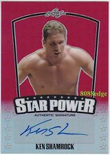 2015 POP CENTURY STAR POWER AUTO: KEN SHAMROCK #4/5 AUTOGRAPH UFC/MMA CHAMPION