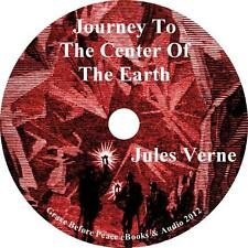 Journey to the Centre of the Earth, Jules Verne Sci-Fi Audiobook on 1 MP3 CD