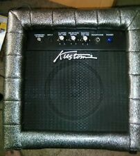 Kustom TR12L Guitar Amplifier - Rare SILVER Tuck and Roll Case