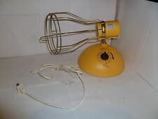 Vintage GE Time-A-Tan Deluxe Suntan RSK6 Sunlamp General Electric Sun Lamp